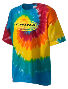 China Kid's Tie-Dye T-Shirt