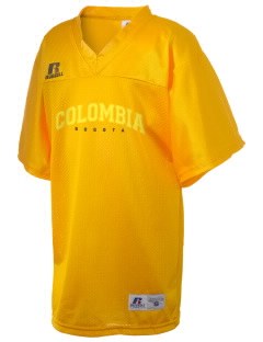 Colombia Russell Kid's Replica Football Jersey