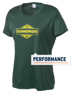Comoros Women's Competitor Performance T-Shirt