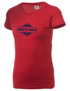 Costa Rica  Russell Women's Campus T-Shirt