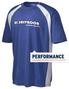 El Salvador Men's Dry Zone Colorblock T-Shirt