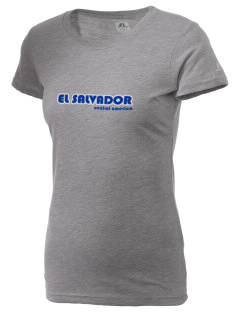 El Salvador  Russell Women's Campus T-Shirt