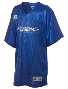El Salvador Russell Kid's Replica Football Jersey