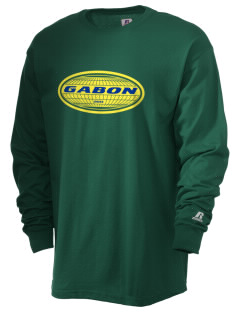Gabon  Russell Men's Long Sleeve T-Shirt
