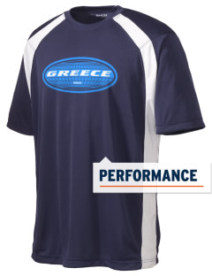 Greece Men's Dry Zone Colorblock T-Shirt
