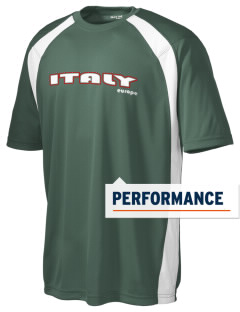 Italy Men's Dry Zone Colorblock T-Shirt
