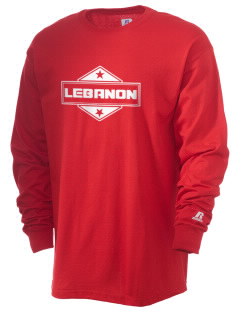 Lebanon  Russell Men's Long Sleeve T-Shirt