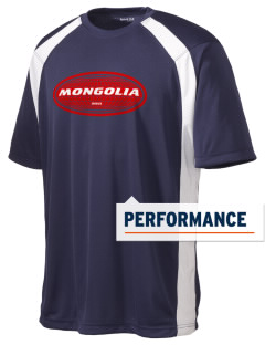 Mongolia Men's Dry Zone Colorblock T-Shirt