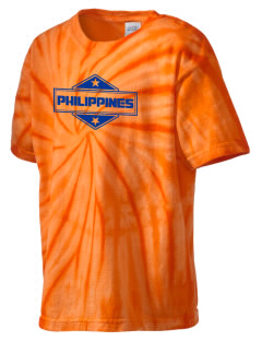 Philippines Kid's Tie-Dye T-Shirt