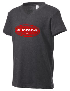 Syria Kid's V-Neck Jersey T-Shirt