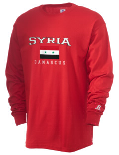 Syria  Russell Men's Long Sleeve T-Shirt