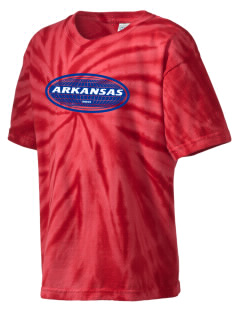 Arkansas Kid's Tie-Dye T-Shirt