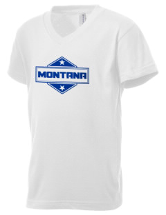 Montana Kid's V-Neck Jersey T-Shirt