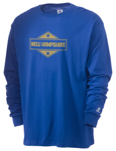New Hampshire  Russell Men's Long Sleeve T-Shirt