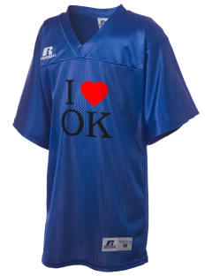 Oklahoma Russell Kid's Replica Football Jersey