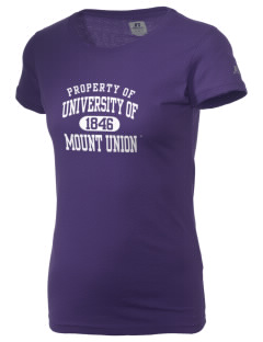 University of Mount Union Purple Raiders  Russell Women's Campus T-Shirt