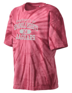 Seminole Heights Charter High School Jaguars Kid's Tie-Dye T-Shirt