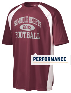 Seminole Heights Charter High School Jaguars Men's Dry Zone Colorblock T-Shirt