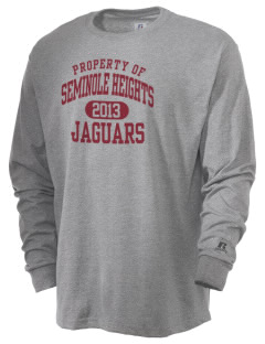 Seminole Heights Charter High School Jaguars  Russell Men's Long Sleeve T-Shirt