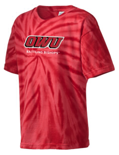 Ohio Wesleyan University Battling Bishops Kid's Tie-Dye T-Shirt