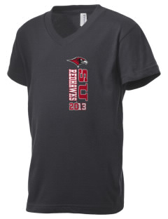 Seattle University Redhawks Kid's V-Neck Jersey T-Shirt