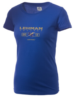 Lehman College Lightning  Russell Women's Campus T-Shirt