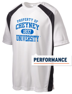 Cheyney University Wolves Men's Dry Zone Colorblock T-Shirt