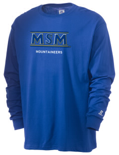 Mount St. Mary's University Mountaineers  Russell Men's Long Sleeve T-Shirt