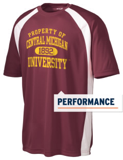Central Michigan University Chippewas Men's Dry Zone Colorblock T-Shirt