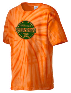 Bering Land Bridge National Preserve Kid's Tie-Dye T-Shirt