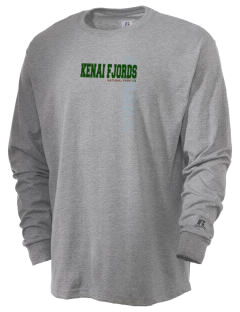 Kenai Fjords National Park  Russell Men's Long Sleeve T-Shirt