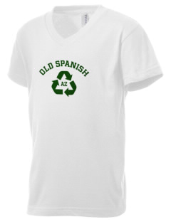 Old Spanish National Historic Trail Kid's V-Neck Jersey T-Shirt