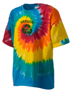 Oregon National Historic Trail Kid's Tie-Dye T-Shirt