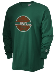De Soto National Memorial  Russell Men's Long Sleeve T-Shirt