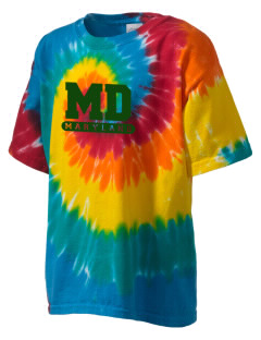 Captain John Smith Chesapeake National Historic Trail Kid's Tie-Dye T-Shirt