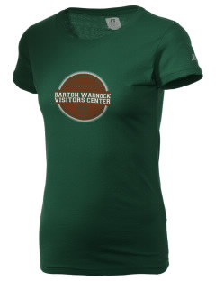 Barton Warnock Visitors Center  Russell Women's Campus T-Shirt