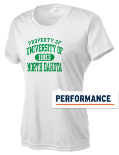 University of North Dakota Athletics Women's Competitor Performance T-Shirt