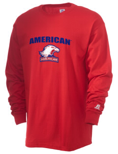 American University Eagles  Russell Men's Long Sleeve T-Shirt