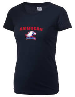 American University Eagles  Russell Women's Campus T-Shirt