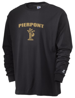 Pierpont Community & Technical College C&TC  Russell Men's Long Sleeve T-Shirt