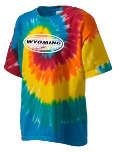 Wyoming Kid's Tie-Dye T-Shirt