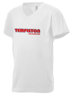 Templeton Kid's V-Neck Jersey T-Shirt