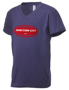 Junction City Kid's V-Neck Jersey T-Shirt
