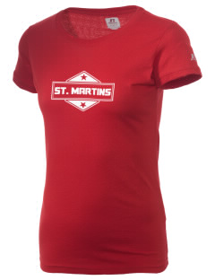 St. Martins  Russell Women's Campus T-Shirt
