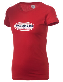 Whiteman AFB  Russell Women's Campus T-Shirt