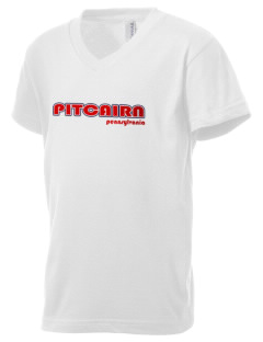 Pitcairn Kid's V-Neck Jersey T-Shirt