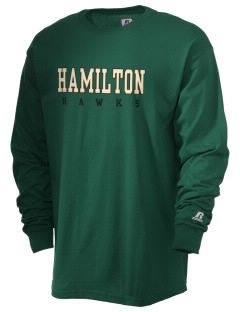 Hamilton Elementary School Hawks  Russell Men's Long Sleeve T-Shirt