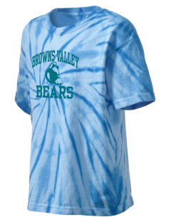 Browns Valley Elementary School Bears Kid's Tie-Dye T-Shirt