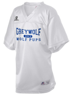 Greywolf Elementary School Wolf Pups Russell Kid's Replica Football Jersey