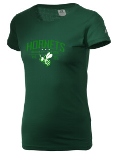 Enosburg Falls Middle High School Hornets  Russell Women's Campus T-Shirt